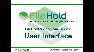 FileHold video