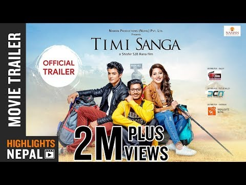Nepali Movie Timi Sanga Trailer