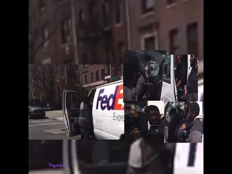 NyC FedEx Driver Held Hostage By Angry Man