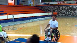 preview picture of video 'LOS ROLLING ROCKIES Wheelchair Basketball Rocky Point Puerto Penasco Mexico'