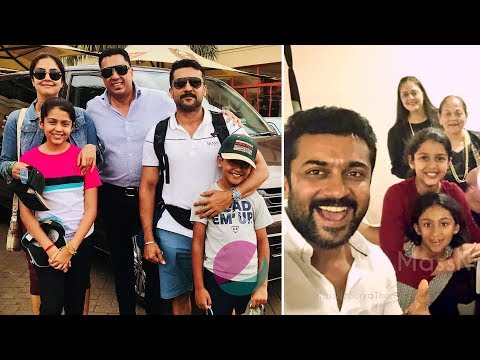 Actor Surya Family Members   Wife Jyothika, Daughter, Son, Brother, Sister Photos & Biography