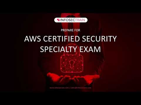 AWS Certified Security – Specialty Exam | AWS Security Content ...