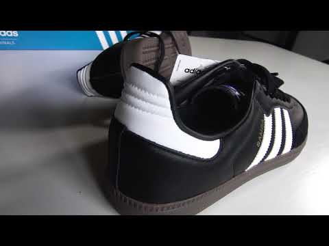 Adidas Originals Samba Classic Black Unboxing Mp3