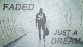 Just A Faded Dream | Alan Walker x Nelly | JustFluffeh Mashup
