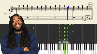 D.R.A.M feat. Lil Yachty - Broccoli - Instrumental / Piano Tutorial + SHEETS