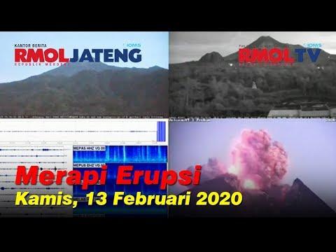 Detik-detik Erupsi Gunung Merapi