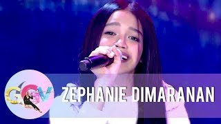 "Zephanie performs her single ""Pangarap Kong Pangarap Mo"" 