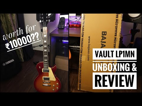 Vault LP1 MN Unboxing & Review | Best Electric Guitar For Beginners??