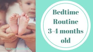 Should I start a bedtime routine for my 3-4 month old?