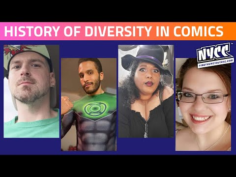 History of Diversity in Comics