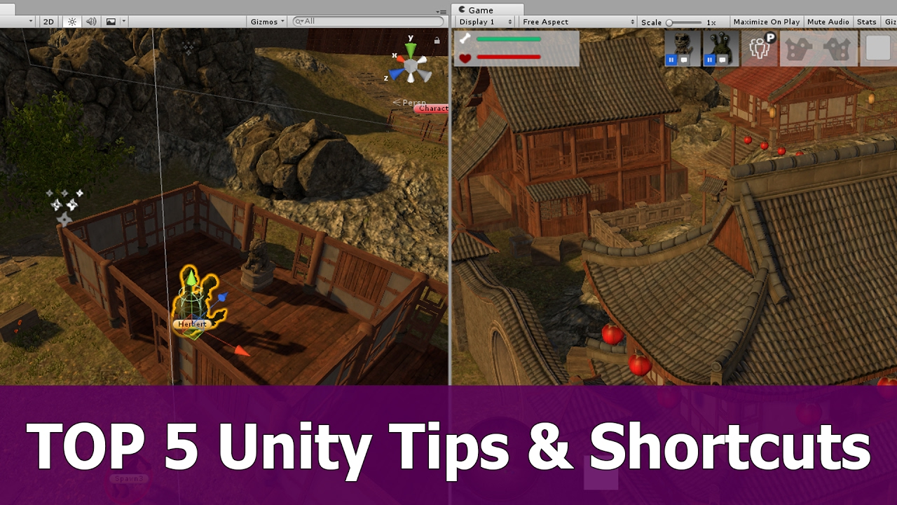 Top 5 Unity 3D Tips, Tricks and Shortcuts