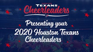 📣 ANNOUNCING The 2020 Houston Texans Cheerleaders Roster! 📣