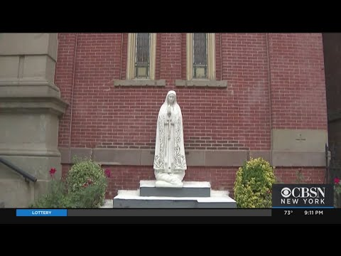 Virgin Mary Statue Defaced In Jersey City