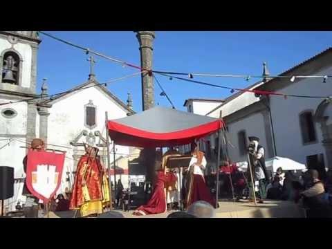 Trancoso (Portugal): Fiesta de la Boda Real 2015 / Festa das Bodas Reais