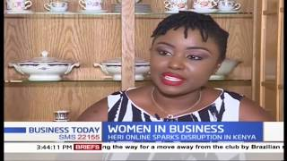 Focus on Rita Oyier, Founder of Heri Online, an online retail store | Women in Business