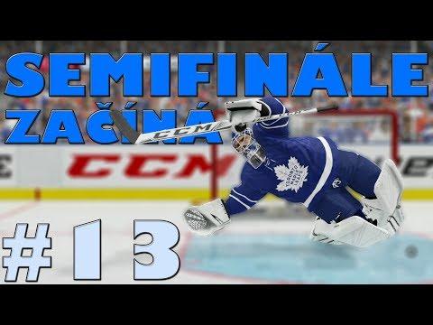 NHL 19 | KOBLIH GOLMANEM #13 | SEMIFINÁLE ZAČÍNÁ! | CZ/SK