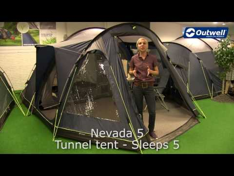 f13209a1210 Петместна палатка Outwell Nevada 5 модел 2018   Палатки ...
