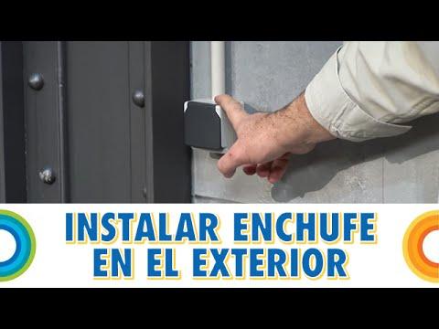 Instalar un enchufe en el exterior (Bricocrack)