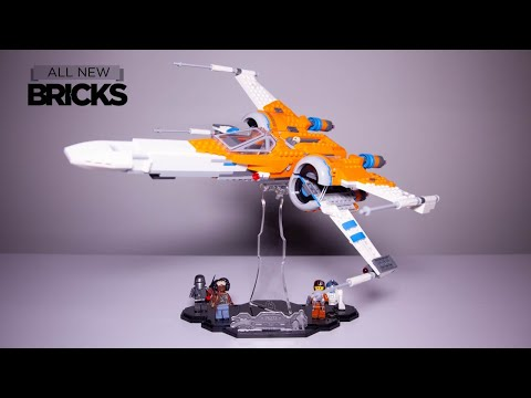 Vidéo LEGO Star Wars 75273 : Le chasseur X-wing de Poe Dameron