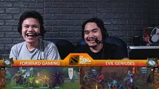 [FIL ] EG v FORWARD GAMING | Game 2 | Playoffs | The Kuala Lumpur Major | By Loot.bet