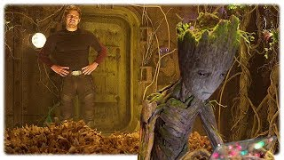Guardians of the Galaxy 2 Teen Groot Extended Scene (2017)