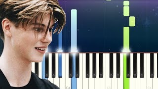 Ruel   Say  SG Lewis Ft Ruel   Flames (Piano Tutorial)