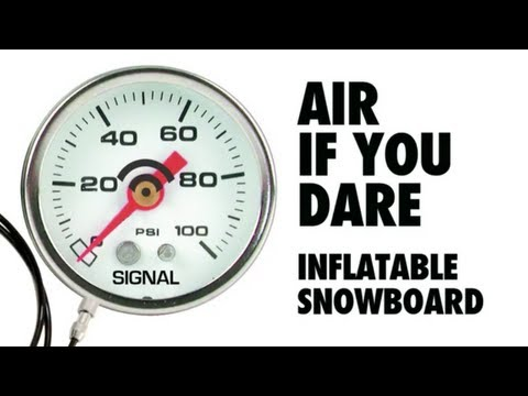 How To Make An Inflatable Snowboard