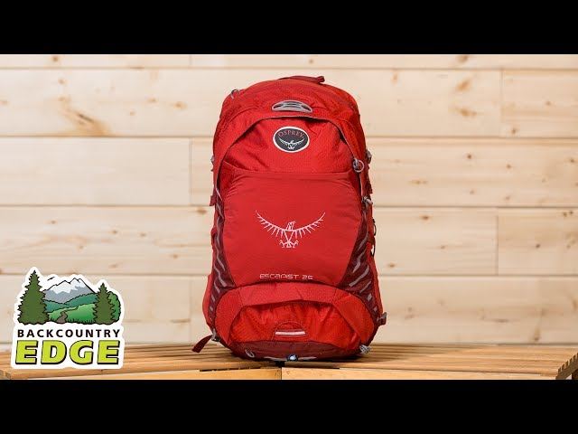 Видео Рюкзак Osprey Escapist 25 Black