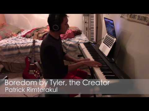 Me playing over Boredom by Tyler Creator using jazz harmony and comping styles.
