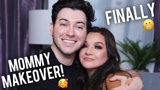 MY MOM GETS A MAKEOVER!