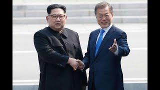 World wakes up to Korean handshake - VIDEO