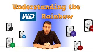 The Difference between WD Blue, Red, Green, Black and Purple Explained
