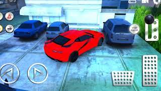 Мультики про Машинки - Учимся парковать машину. Красный Камаро Машинки для Детей Parking CARS
