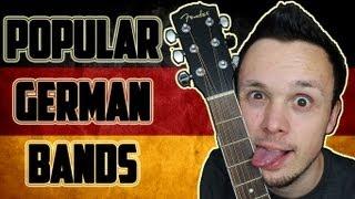 Popular German Bands / Music - Beliebte Deutsche Bands / Musik