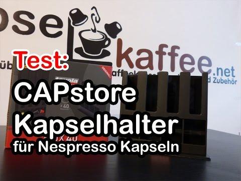 CAPstore Box 40 Kapselhalter für Nespresso Kapseln im Test