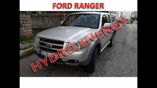 Ford ranger hidrojen yakıt sistem montajı