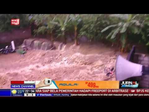 Video Banjir Bandang di Bogor yang Tewaskan 2 Orang