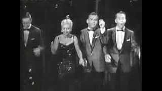 """The Merry Macs and """"I'm Forever Blowing Bubbles"""" from the Nat King Cole Show"""