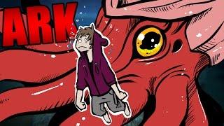 ARK Survival Evolved - TAMING THE KRAKEN, TUSOTEUTHIS GIANT SQUID #12 - ARK Extinction Mod Gameplay