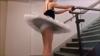 My Ballet Tutu, Stage Costume Outfit + Makeup (warm Up)