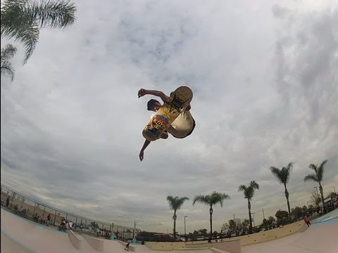 Charlie Blair King of the park contest