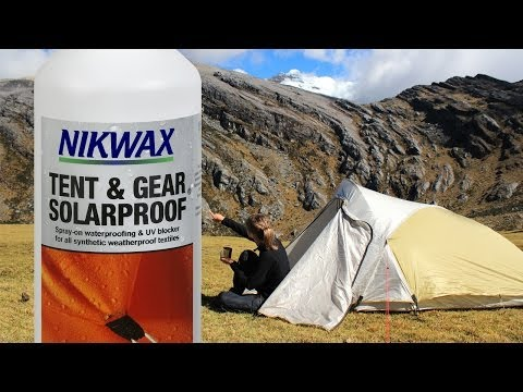 & Nikwax Tent and Gear Solar Proof Water Repellent 500