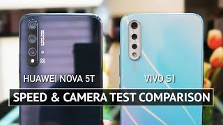 Huawei Nova 5T vs Vivo S1 SPEED and CAMERA TEST