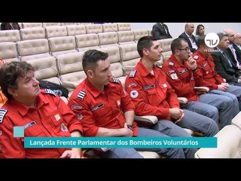 Lançada frente em defesa dos bombeiros voluntários - 02/09/19