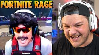 Hilarious Fortnite Rage - Reaction