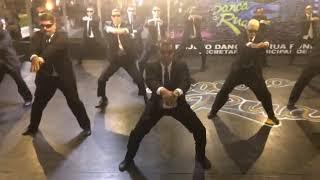 Dança de Rua do Brasil apresenta Homens de Preto na reinauguração de espaço do grupo