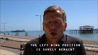 Enrico Tortolano on the cost of the EU and why Leave is the left wing position