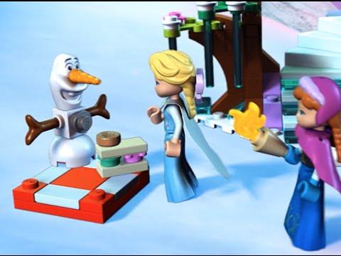 Vidéo LEGO Disney 41062 : Le palais de glace d'Elsa