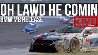 iRacing - Testing Out The NEW BMW M8 GTE + NTM7