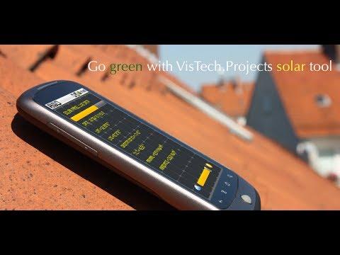 Video of SolarMeter solar panel planner